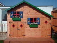 Two storey playhouse