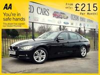 BMW 3 SERIES 2.0 320D SPORT 4d AUTO 184 BHP Apply for finance Online today! (black) 2012