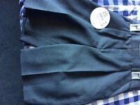 Grey school shorts by Trutex size 32 waist, age 15 years brand new