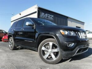 2014 Jeep Grand Cherokee Limited Cuir Toit GPS Mags 20'' FULL ÉQ
