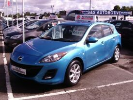2010 MAZDA 3 TS2 5 DOOR 12 MONTHS M.O.T 6 MONTHS WARRANTY (FINANCE AVAILABLE)