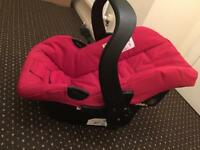 Infant car seat-used rarely,as good as new