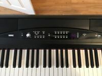 For Sale: 2 year old Korg SP 280 Keyboard 88key and weighted in perfect condition