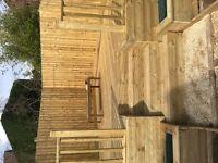 Garden decking & fencing