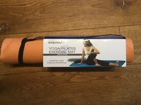 Yoga Pilates exercise mat brand new