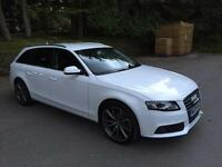 Absolutely Stunning Audi A4 Avant in Ibis White
