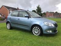 2011 SKODA FABIA ELEGANCE TDi CR 75 £20 TAX FINANCE & WARRANTY polo,fiesta, corsa,swift,fiesta,Clio