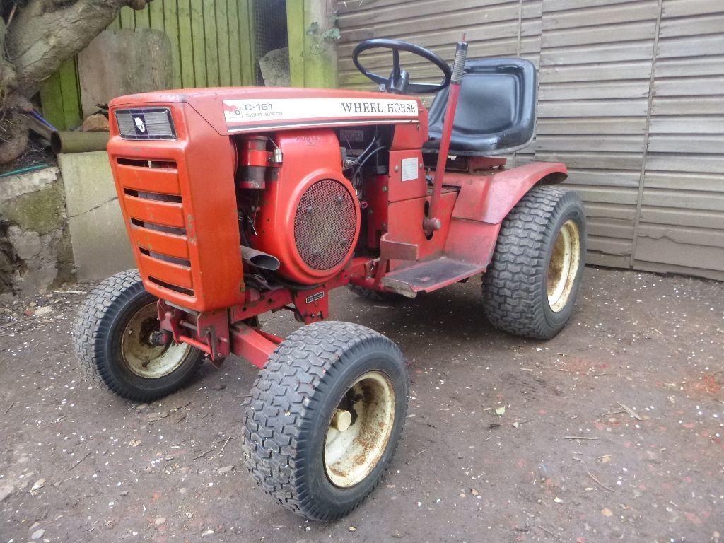 Mini Wheel Horse Tractor : Classic wheel horse c hp compact garden tractor