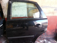 ford focus 2006,near side rear door and mirror in BLACK
