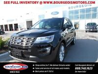 2016 Ford Explorer Limited DEMO 301A WITH FREE WINTER SAFETY PKG