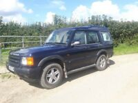 Land rover discovery td5 auto gs