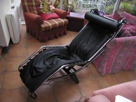 Modern pu leather relaxer/recliner. Make me an offer - first sensible offer secures!