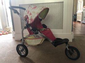 Dolls Pram Mamas and Papas 03 Sport 3 wheeler suitable up to around 10 years