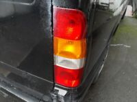 Transit rear lights (read the listing)