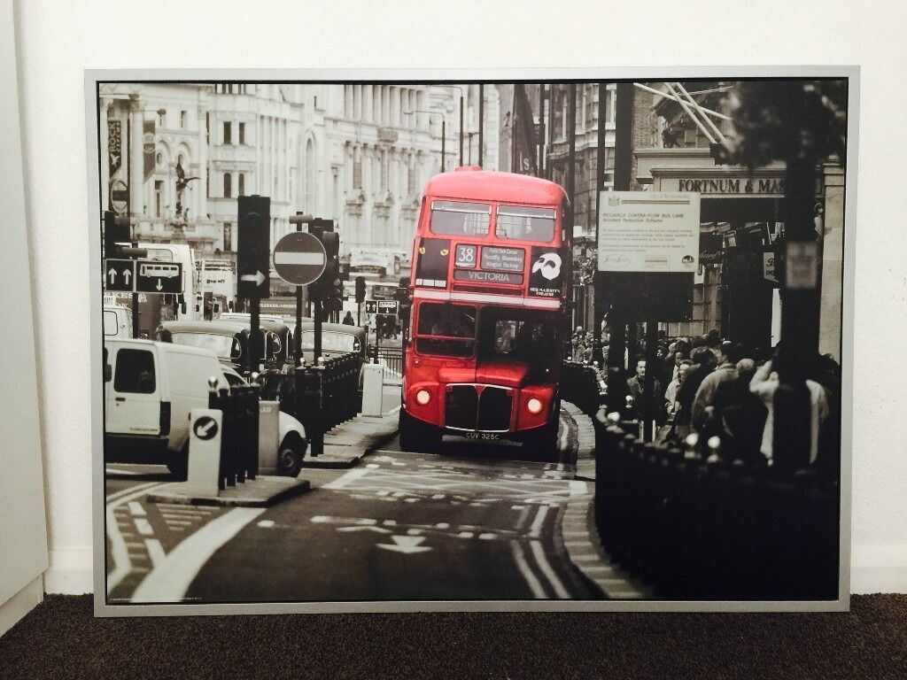 Ikea Framed Print London Double Decker In Coventry West Midlands Gumtree
