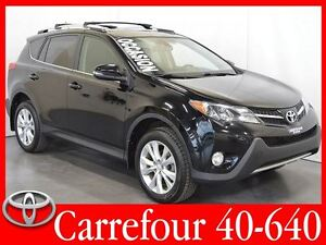 2013 Toyota RAV4 Limited 4WD Navigation+BSM+Cuir+Toit Ouvrant