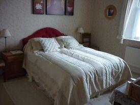 Double en-suite room 30 mins to Bath & Salisbury close to rail station and town centre