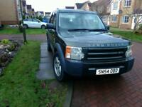 2005 Land Rover Discovery 3 2.7 V6 diesel, towbar, 7 seats