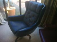 Parker Knoll Statesman chair from the 1960's stunning original condition 60 years old