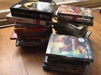 Large selection of DVDs approx 40
