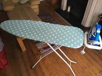 Morphy Richards steam iron & ironing board