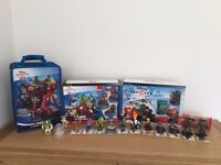 PS3 Disney Infinity - Infinity and 2.0 plus an extra 13 characters with case/discs