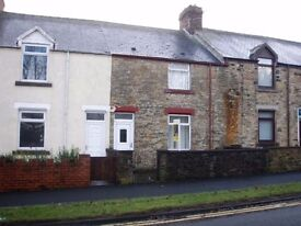 Extended Two Bed Mid Terraced Home in Greencroft, Stanley.