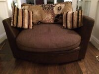 DFS SNUGGLE COUCH AND 3 PIECE SIUTE