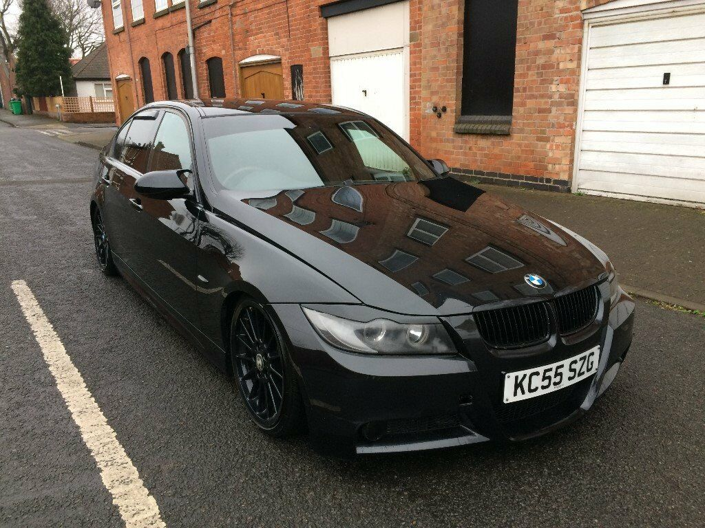 2005 55 bmw 325i m sport saloon black modified show car in forest fields nottinghamshire. Black Bedroom Furniture Sets. Home Design Ideas
