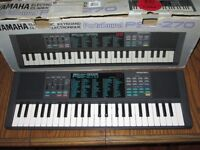 Yamaha Portasound PSS-270 portable electronic keyboard synthesizer synth piano organ voice bank boxd