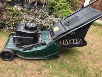 Hayter Push Petrol Mower With Roller