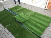 Artificial turf cut offs