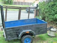 Great Size Trailer 5ft x 3ft ready for any work or use Tip runs,Gardener,Small Bulder