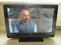 "SONY BRAVIA 32"" WITH FREEVIEW"