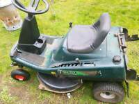 Hayter ride on mower