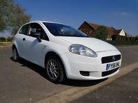 2007 White Grande Punto looking for new money