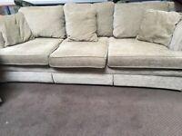 3 and 2 Seat Sofa Set