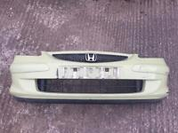 Honda Jazz Front Bumper and Grille Breaking