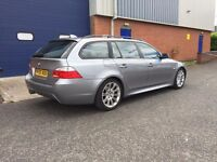 2005 [55] BMW 530d M SPORT AUTOMATIC TOURING - NAVIGATION -FULL HISTORY - FULL LEATHER - ESTATE 525D