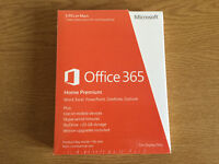 Microsoft Office 365 Home Premium- 5 Users - 1 Year Subscription (PC/Mac)