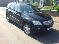 2006 06reg Mercedes ML320 Cdi Se Automatic Black