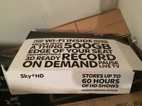 Sky TV HD Box - 500GB - PICK UP / DROP OFF CENTRAL LONDON FROM 29 NOVEMBER