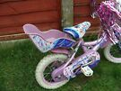 Cheap girls pink  first bike, Concept Princess brand, used but in VGC 9 inch frame