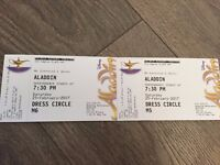 Aladdin Theatre Tickets for 2 people