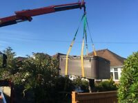 crane hire london hiab hire london for lifting heavy items hot tubs ect lifts 2 tonne