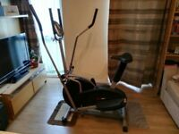 XS Sports 2-in1 Elliptical Cross Trainer Exercise Bike-Fitness Cardio