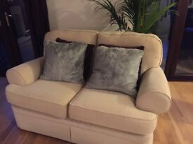 2 M&S TWO SEATER SOFAS