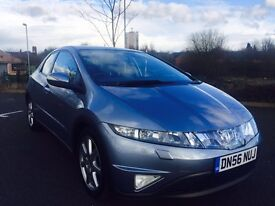 HONDA CIVIC 2.2 i-CTDi Sport Hatchback 5dr Diesel Manual (140 g/km, 138 bhp) (blue) 2007