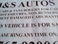 J&S Autos motors wanted