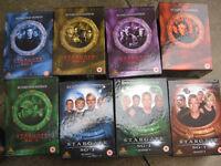 stargate sg1 series 1-8 box sets